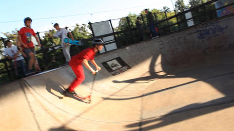 skate 02 Stock Video Footage