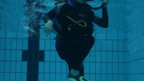 underwater 01 Stock Video Footage