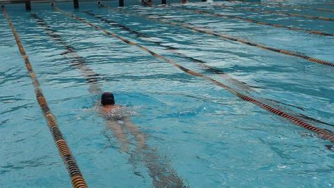 pool 02 Stock Video Footage