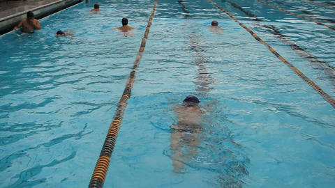 pool 06 Stock Video Footage