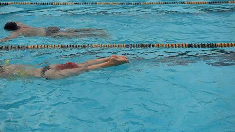pool 11 Stock Video Footage