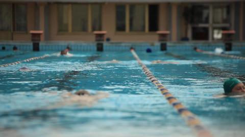 pool 20 Stock Video Footage
