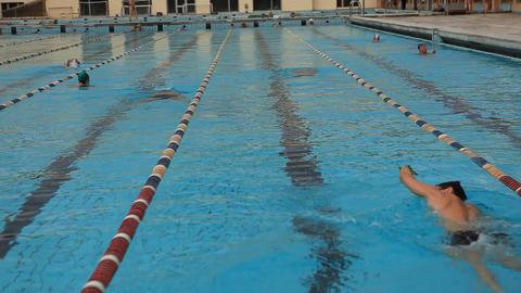 pool 28 Stock Video Footage