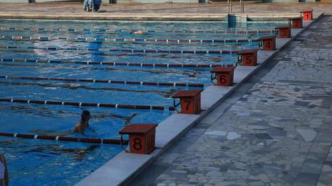 pool 37 Stock Video Footage