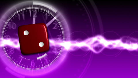 Casino Dice Background - Casino 32 (HD) Stock Video Footage