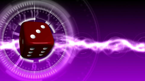 Casino Dice Background - Casino 32 (HD) Stock Video Footage