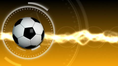 Soccer Ball Sport Background 06 (HD) Stock Video Footage
