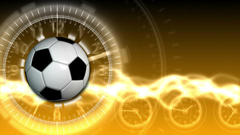 Soccer Ball Sport Background 18 (HD) Animation