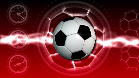 Soccer Ball Sport Background 22 (HD) Animation