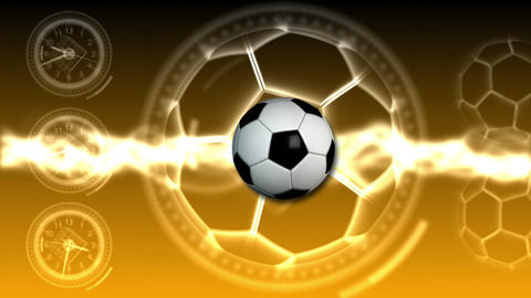 Soccer Ball Sport Background 24 (HD) Stock Video Footage