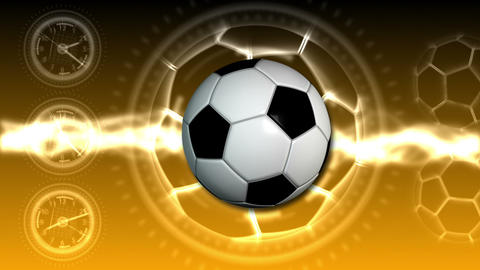 Soccer Ball Sport Background 24 (HD) Animation