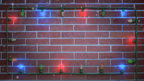 Christmas Title Background 001 stock footage