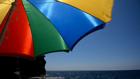 umbrella Stock Video Footage