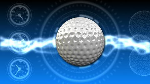 Golf Ball Background 23 (HD) stock footage