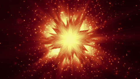 BrightStar - Christmas / Star Video Background Loop stock footage