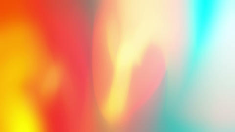Cozy - Colorful Bright Abstract Video Background Loop Stock Video Footage