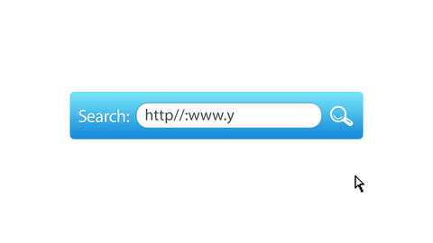 Search Your Website Stock Video Footage