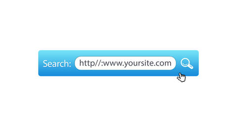 Search Your Website Animation