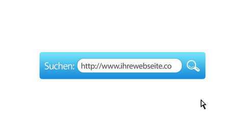 Ihre Webseite Suchen Animation