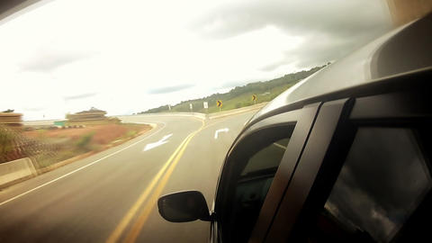 Countryside Car Trip 03 Stock Video Footage