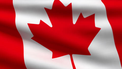 Canadian flag Animation
