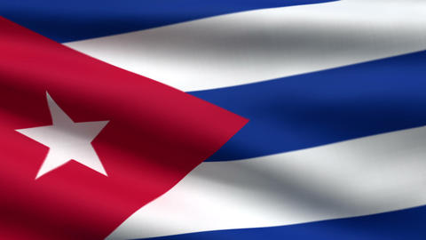 Cuban flag Animation
