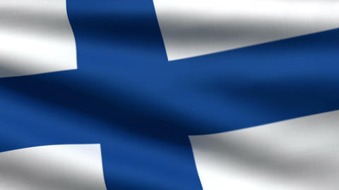 Finnish flag Animation