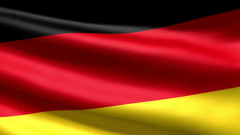 German flag Stock Video Footage