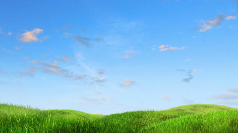 meadow and sky Animation