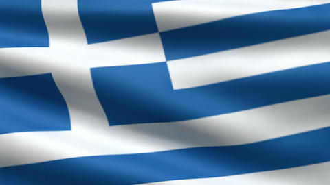 Greece flag Animation