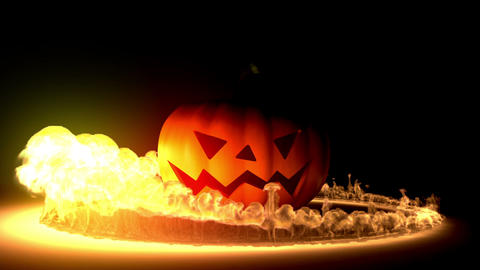 Halloween intro Stock Video Footage