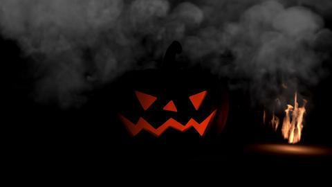 Halloween intro Stock Video Footage