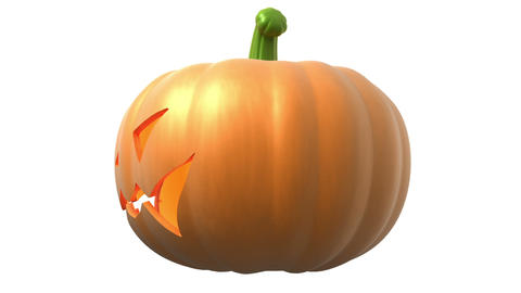 halloween pumpkin Stock Video Footage