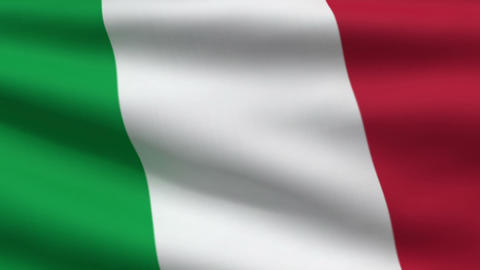 IItalian Flag stock footage