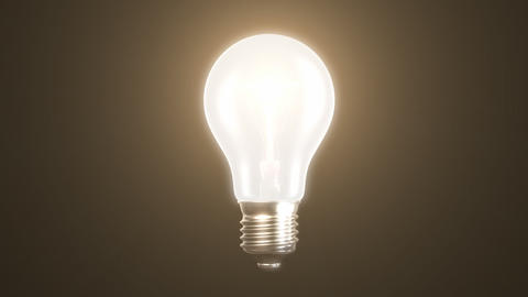 exploding incandescent lamp Stock Video Footage