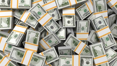 Money background, dollars Stock Video Footage