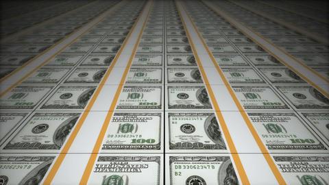 Money conveyor Stock Video Footage