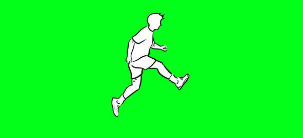Run and jump Animation