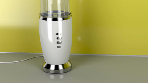 Small blender in the kitchen Animation