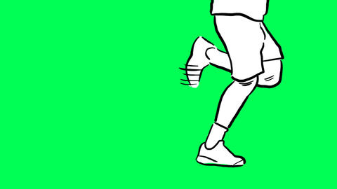 Running legs Animation