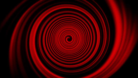 Red Space Time Warp Tunnel Vortex Loopable Motion Background Animation