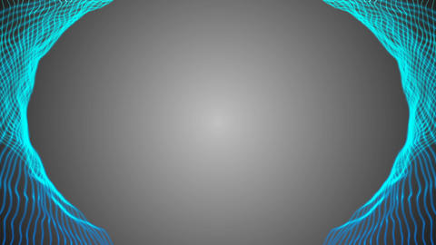 concentration of attention. gray background. frame for information. place for Footage