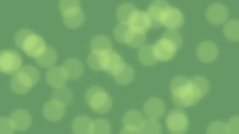 Spring green video background with bokeh effect. Empty background Animation