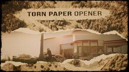 Torn Paper Opener Premiere Proテンプレート