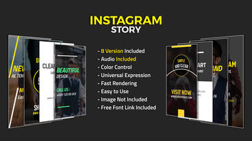 Instagram Story After Effects Template