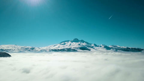 Sea of clouds Footage