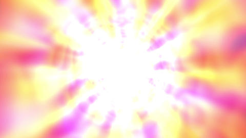 [alt video] Bright Glowing Tunnel Burst Abstract Motion Background Slow