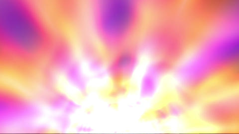 Bright Glowing Footlights Rays Burst Abstract Motion Background Slow Animation