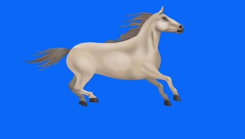 horse running Animation