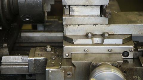 metal milling machine Footage